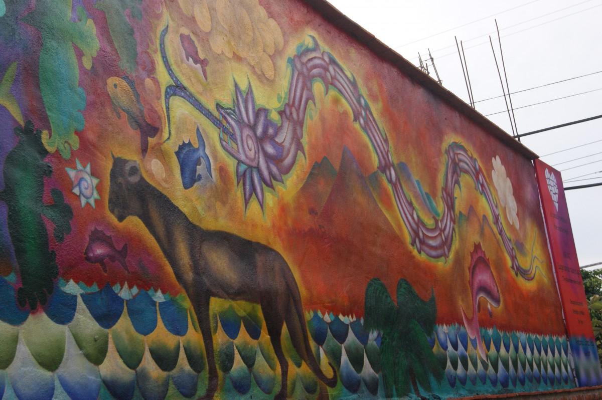 Inauguran mural que cuenta la fundaci n de ajijic for El mural jalisco
