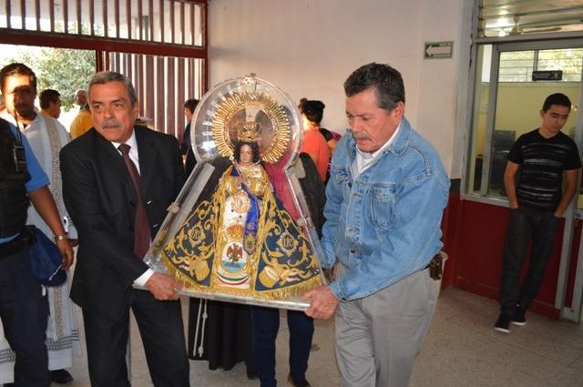 VISITA LA VIRGEN DE ZAPOPAN EL NÚCLEO CARCELARIO DE PUENTE GRANDE