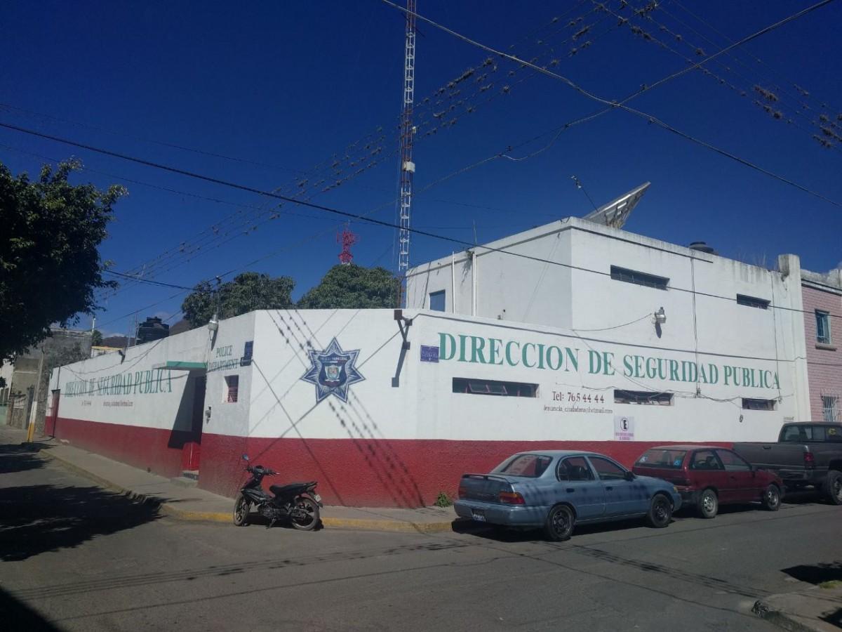 La Estación de Policía actualmente ubicada en la zona centro de Chapala.