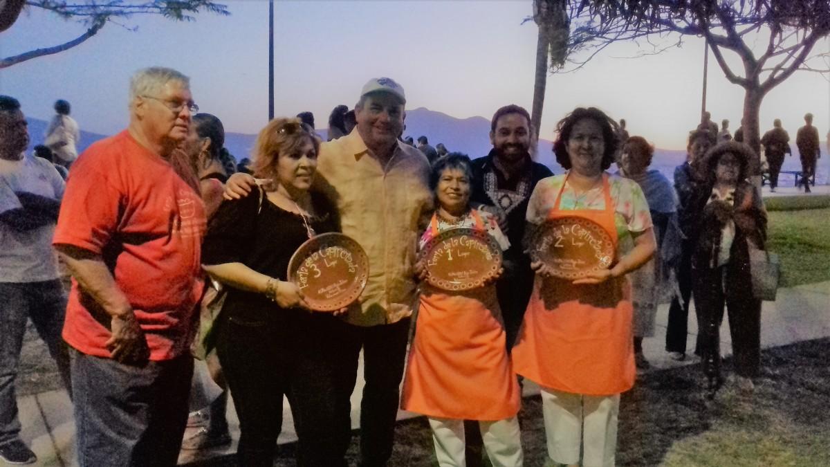 Ganadores de la tercera edición de la Feria de la Capirotada en Ajijic