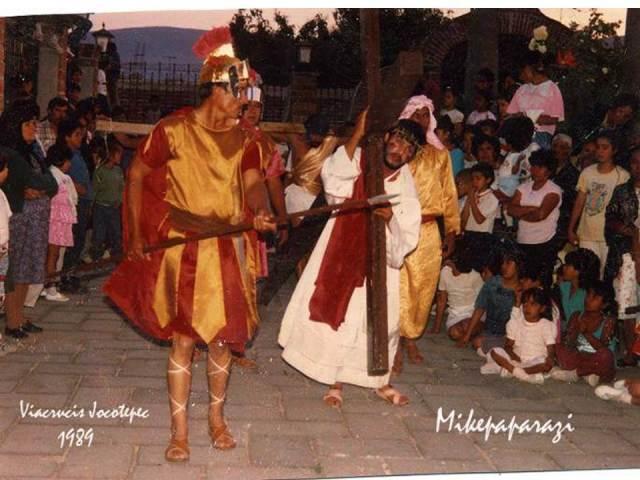 Pasión de Cristo Jocotepec postal 1989