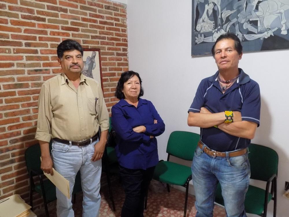 Miembros de la Comunidad Indígena de Ajijixc - copia