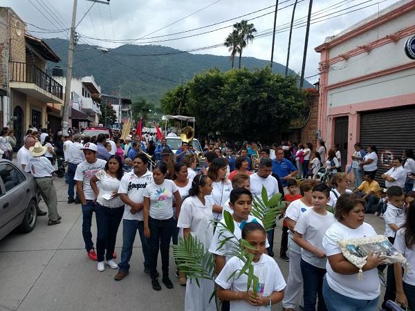 Marcha por la Paz en Jocotepec
