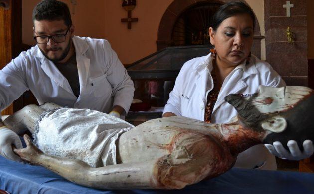 Causa polémica traslado de Cristo de Jocotepec en ambulancia