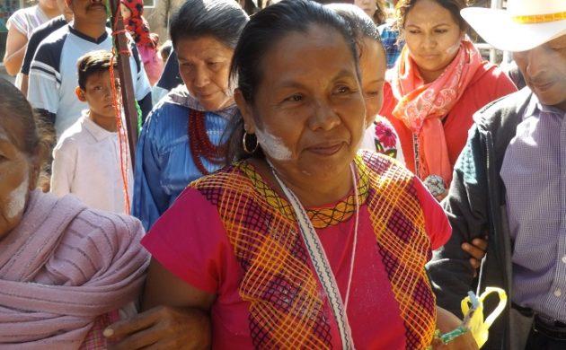 Poca convocatoria durante la visita de Marichuy en Mezcala