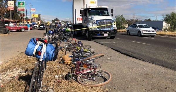 Atropellan a ciclista sobre carretera a Chapala