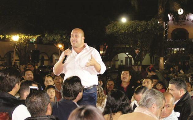 Enrique Alfaro se presentó en Ixtlahuacán de los Membrillos