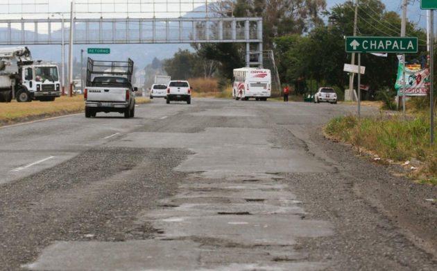 Este jueves Inicia rehabilitación de la carretera a Chapala