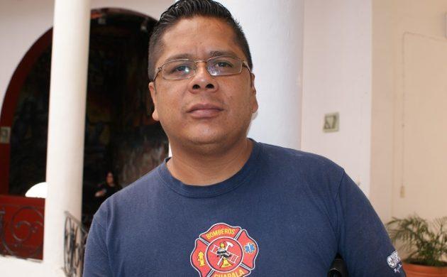 """Enrique Perales considera que fue un """"flashover"""" y no el equipo lo que provocó quemaduras al bombero"""