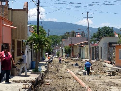Será antes del grito cuando concluya la obra de la calle Hidalgo
