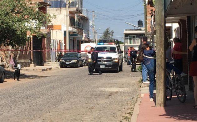Reportan agresión con arma de fuego en calle Primavera en Jocotepec