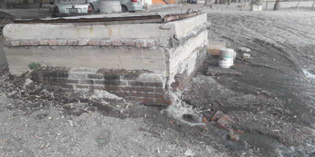 Basura y lodo colapsan redes de drenaje en tres entidades de Chapala