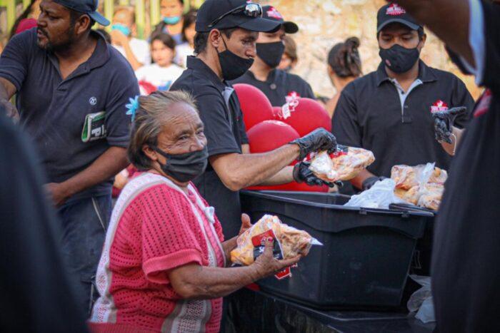 Generalmente las ayudas se entregan a personas con falta de recursos o empleo. Foto: cortesía.