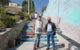 Restauran mural de las escalinatas del barrio de San Miguel