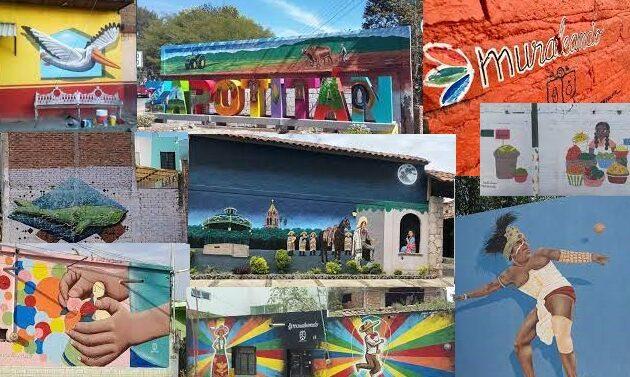 Llenan de color los muros de Jocotepec