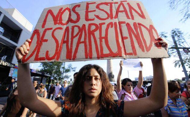 PERSISTEN DESAPARICIONES FORZADAS EN MÉXICO