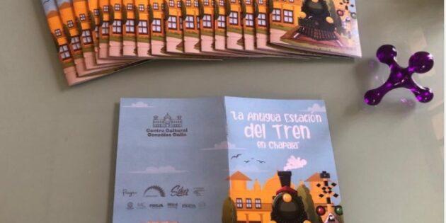 Invitan a menores a aprender la historia de la Antigua Estación del Tren en Chapala