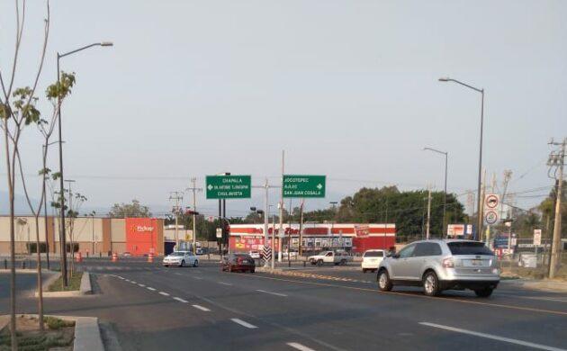 Director de Movilidad Chapala se dijo inconforme con semáforos en acceso al libramiento Ajijic
