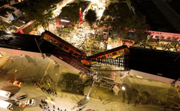 México City subway collapse: #NoFueAccidenteFueNegliencia?
