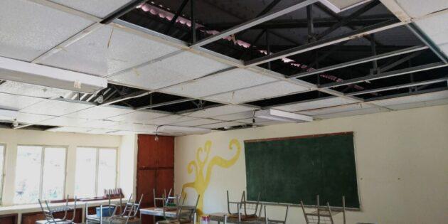 Roban cable y escuela de Jocotepec opera sin energía eléctrica propia